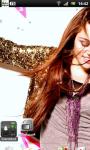 Miley Cyrus Live Wallpaper 5 screenshot 2/3