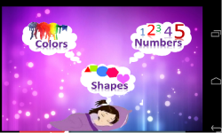 Awesome Kids Colors Shapes Numbers screenshot 1/1