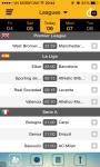 Soccer Livescore screenshot 3/6