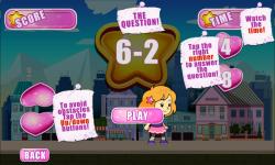 Cute Girl Math Survive screenshot 3/6