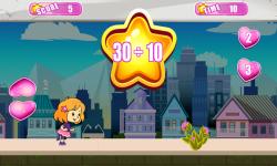 Cute Girl Math Survive screenshot 4/6