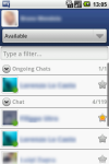 myChatDroid for Facebook screenshot 3/6