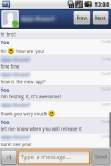 myChatDroid for Facebook screenshot 4/6