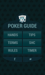 PokerGuide HD screenshot 1/6