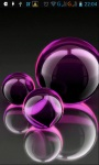 Colored glow balls LWP screenshot 1/4