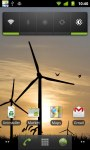Windmill Sunset LWP HD screenshot 1/6