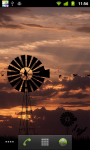 Windmill Sunset LWP HD screenshot 3/6