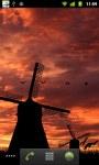 Windmill Sunset LWP HD screenshot 5/6