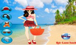 Thailand Beach Dressup Free screenshot 1/3