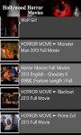 Hollywood Horror Movies Free screenshot 2/4