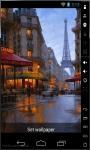 Raining In Paris Live Wallpaper screenshot 1/2