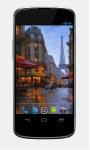 Raining In Paris Live Wallpaper screenshot 2/2