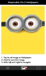 Minions Despicable Me Wallapapers screenshot 3/6
