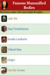 Famous Mummified Bodies screenshot 3/4