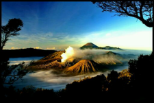 best bromo sunrise wallpaper screenshot 1/1