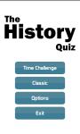The History Quiz screenshot 1/5