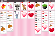 Freecell Valentine-Free screenshot 1/6