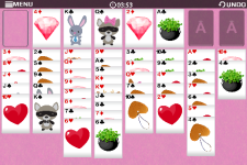 Freecell Valentine-Free screenshot 4/6