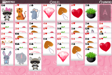 Freecell Valentine-Free screenshot 5/6