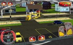 3D Car Transport Trailer  rare screenshot 1/6