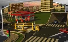 3D Car Transport Trailer  rare screenshot 2/6