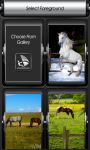Horses Zipper Lock Screen screenshot 3/6
