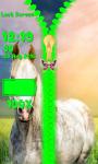 Horses Zipper Lock Screen screenshot 5/6