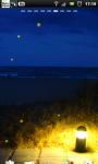 Night Beach Lamp Live Wallpaper screenshot 1/6