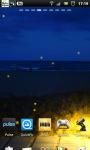 Night Beach Lamp Live Wallpaper screenshot 3/6