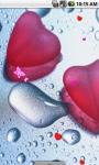 Wet Heart Live Wallpaper screenshot 1/4