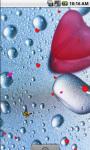 Wet Heart Live Wallpaper screenshot 2/4