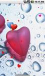 Wet Heart Live Wallpaper screenshot 3/4