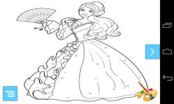 Beauty Barbie Coloring Pages screenshot 2/3
