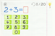 Math Is Fun Kids 2-7 years Addition Subtraction screenshot 1/5