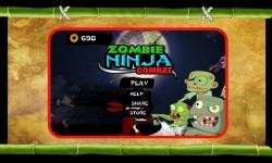 Zombie Ninja Combat screenshot 1/4