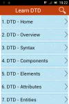 Learn DTD screenshot 1/6