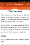 Learn DTD screenshot 2/6