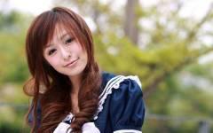 Free HD Beautiful Asian Girl Wallpaper for Android screenshot 1/6