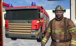 Real Hero FireFighter 3d Game screenshot 1/4