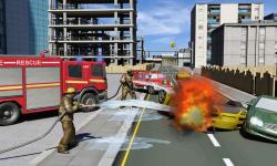 Real Hero FireFighter 3d Game screenshot 2/4
