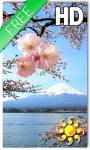 Sakura Live Wallpaper HD Free screenshot 1/2