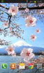 Sakura Live Wallpaper HD Free screenshot 2/2