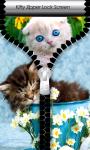 Kitty Zipper Lock Screen screenshot 1/6