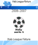 Italy League Fixture screenshot 1/1