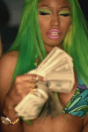 Nicki Minaj Money Live Wallpaper screenshot 2/2