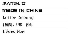 ★ Asia for FlipFont® free screenshot 1/1