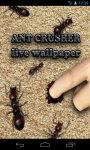 Ant Crusher Live Wallpaper screenshot 1/4