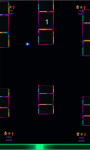 Flappy neon dots and cubes game free screenshot 3/5