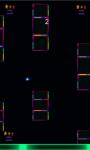 Flappy neon dots and cubes game free screenshot 4/5