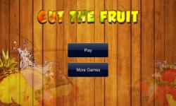 Cut The Fruit Free screenshot 1/4